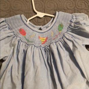 Other - Girls Size 6 Smocked Birthday Dress